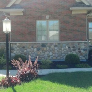 Fieldstone in Masonry Application